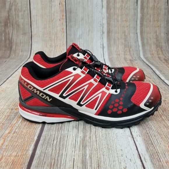 MENS SALOMON XR Crossmax 1 Hiking Trail Running Shoes Size